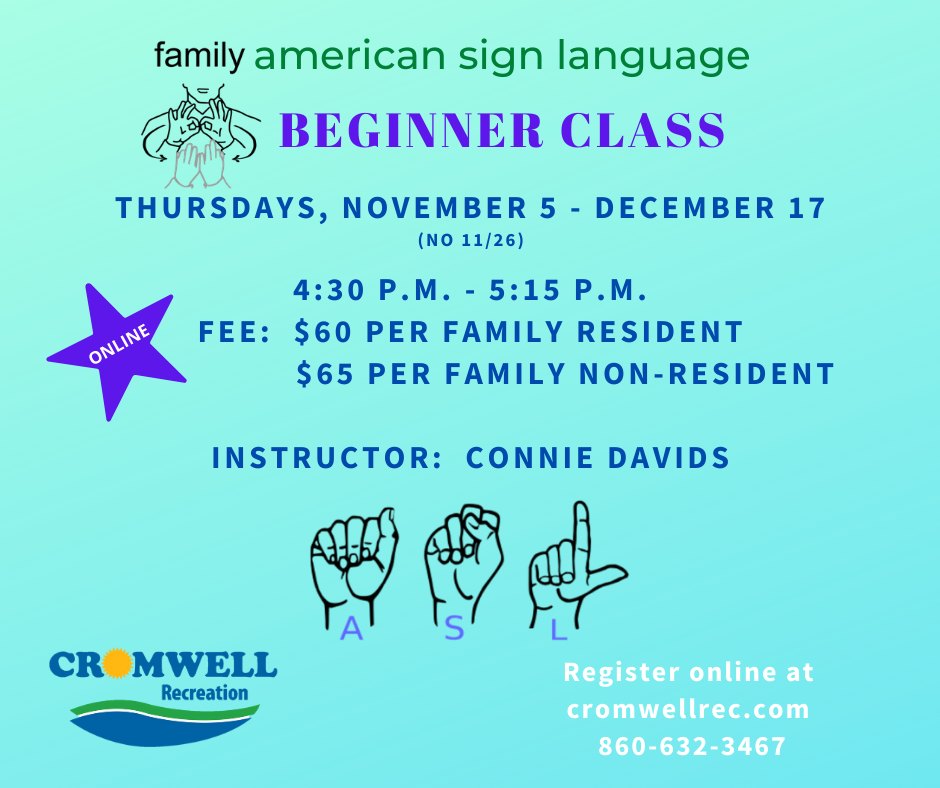 Family American Sign Lanugage